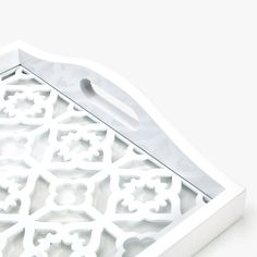 Lattice decor tray - Zara Home