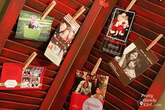 5 SIMPLE CHRISTMAS CARD DISPLAY IDEAS