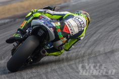 """Rossi's best lap was 1:59.727—the first time in his career he'd circulated Sepang in less than 2 minutes. """"I feel competitive,"""" he said, """"and stronger than last year."""""""