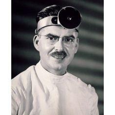 Portrait of a male doctor wearing a headband Canvas Art - (18 x 24)