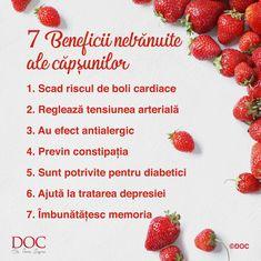 Te invit să te bucuri de gustul aromat al căpșunilor și de proprietățile lor benefice pentru sănătate! Pline de savoare și cu un miros parfumat, căpșunile sunt înconjurate de numeroase legende. Potrivit unei credințe din Roma Antică, aceste fructe în formă de inimă au apărut din lacrimile zeiței Venus. Datorită parfumului și gustului lor delicios, căpșunile au devenit, în timp, un simbol al perfecțiunii. Mai mult, știai că ele sunt înrudite cu trandafirii? În plus, nici nu au multe calorii.