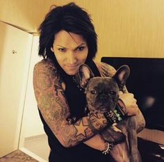 """Aww that is such a cute dog<<<that dog looks like he's saying """"haha all you bvb army members wanna be me!"""""""