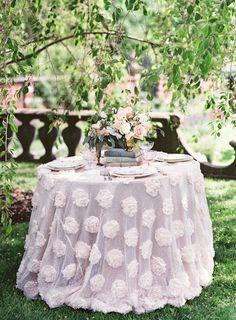 #linens  Photography: Judy Pak - judypak.com Photography: Matthew Ree - matthewree.com  Read More: http://www.stylemepretty.com/2014/02/21/springtime-bridal-shoot-wiup/