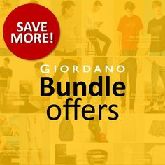 Giordano's Bundle Offers Are Back! At Giordano, all the items you get to love such as polo, shirts, jeans, khakis, joggers, and innerwear essentials are available all year round, with new styling and colors coming every season. We are thankful that you consider our items to be must haves, thus we ensure that you get the best deals with our bundle offers.