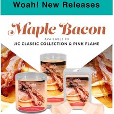 Good morning Sunshines!! New Release Alert  Calling all Breakfast lovers :::: Mmmm...a decadent breakfast experience unlike any other. Savory smoked bacon topped with maple sugar chestnuts and creamy vanilla.  Come visit http://ift.tt/1IeUHGb  #candles #ecofriendly #healthy #lush #sale #nvusddjic #jewelry #homedecor #interiordesign #spa #relax #yogi #sahm #bosslife #fruit #spring #summer #September #summer16 #coffeeaholic #bacon