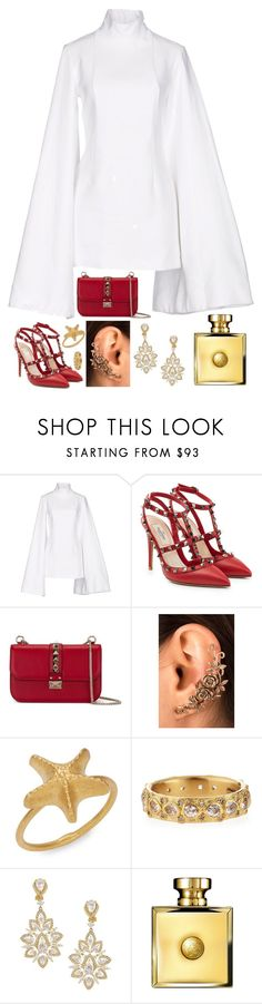 """""""•Sisters we are everywhere Warriors, your country needs you•"""" by jem0kingston ❤ liked on Polyvore featuring Jacquemus, Valentino, Armenta, Nadri, Versace and country"""