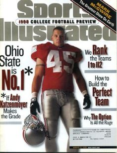 Andy Katzenmoyer on the cover of Sports Illustrated