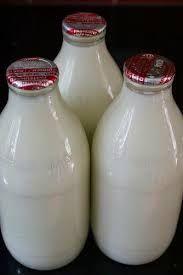 Melk in flessen