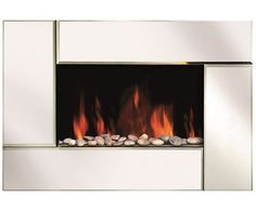 Shop Staples® for Modern Homes Wall Mount Fireplace with Bevel Edge Mirror Glass Front and enjoy everyday low prices, and get everything you need for a home office or business.