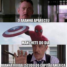 Trailer 2 de Capitão América: Guerra Civil da Marvel - Homem Aranha