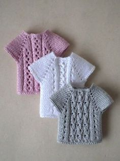 Crochet clothes barbie knitting patterns ideas for 2019 Crochet Doll Dress, Crochet Barbie Clothes, Baby Doll Clothes, Knitted Dolls, Dress Clothes, Doll Dresses, Knitting Dolls Clothes, Baby Dresses, Barbie Knitting Patterns