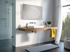 Lustro łazienkowe Andromeda LED z oświetleniem LED/Mirror Andromeda LED Oval Mirror, Beveled Mirror, Led Z, Frameless Mirror, Mirror With Shelf, Mirror Painting, Mirror Cabinets, Modern Design, Mirrors