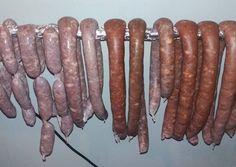 Diy Food, Sausage, Food And Drink, Meat, Vegetables, Cooking, Recipes, Kitchen, Sausages