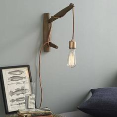 small wood pendant chandelier - Google Search