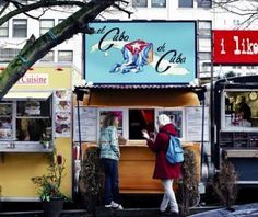 """Food carts in Portland are cooperating with a sustainability manager on a reusable to-go box """"rental"""" system. Customers pay a one time membership fee, and cart owners get an incentive for each membership sold."""