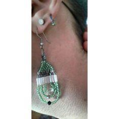 Jewelry lavorazione perline miyuki orecchino. In vendita, chiunque interessato mi contatti