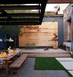 10 gravel based gardens - Architect Tong's Backyard in House & Home I Gardenista.