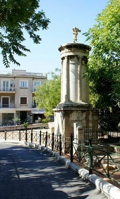 Monument of Lysicrates (favorite place of Lord Byron), Athens