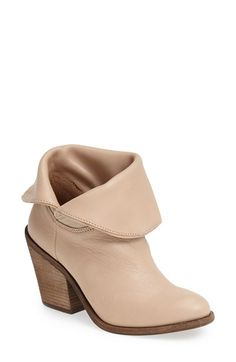 Lucky Brand 'Ethann' Foldover Shaft Leather Bootie (Women) available at #Nordstrom
