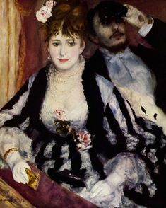 Auguste Renoir, The Theatre Box