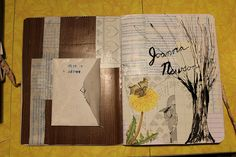 first page by maryvannote, via Flickr