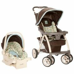 Safety 1st Saunter Luxe Travel System - Owls