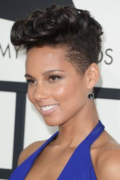 Alicia+Keys+short+hairstyle