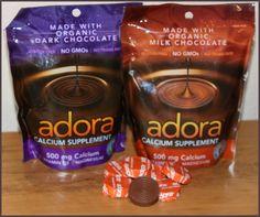 Get your Calcium supplement in delicious chocolate treats @adoracalcium