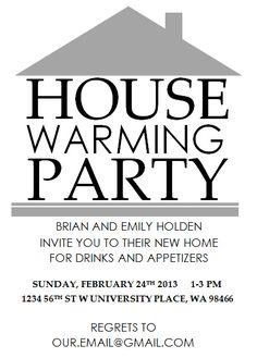Free Housewarming Party Invitations Printable