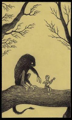 Post: ¿Y si Edward Gorey dibujara los horrores indescriptibles de H.P. Lovecraft?