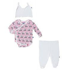 Pink Panda Newborn Gift Set