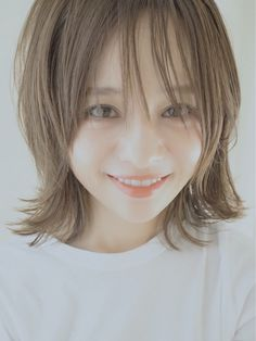 ☆kami☆ | 田中亜希子オフィシャルブログ Powered by Ameba Long Bob Hairstyles, Girl Hairstyles, Natural Wavy Hair, Hair Arrange, Hair Setting, Japan Girl, Cut And Style, Hair Inspiration, Bangs