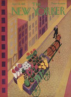 The New Yorker - Saturday, April 24, 1926 - Issue # 62 - Vol. 2 - N° 10 - Cover by : Ilonka Karasz