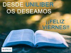 Desde Uniliber os deseamos un #FelizViernes (27 enero 2016) de nuevas lecturas. Os proponemos algunas ➡️ https://www.uniliber.com/recomendados