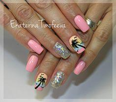 Guest nail art 15 best designs gallery bestartnails com pink and yellow gel nails Bright Nail Designs, Best Nail Art Designs, Toe Nail Designs, Gel Designs, Nails Design, Gel Toe Nails, Gel Nail Tips, Nail Gel, Neon Nail Art