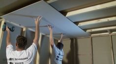 How to Install Plasterboard Part 3: Ceilings and Walls.