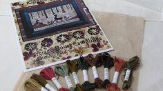 """Silks and linen for Carriage House Samplings """"The Kingsford Sampler"""""""