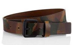 Resultado de imagen de cinturon estampado