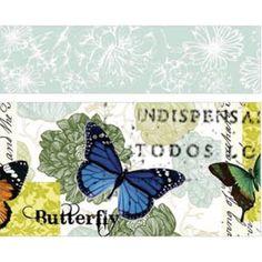 Washi of masking tape 2 rollen: vlinders