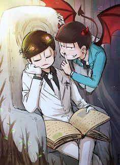 Osomatsu-san- Osomatsu and Choromatsu #Anime「♡」