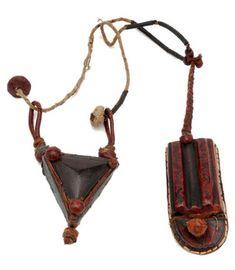 leather amulet, Senegal