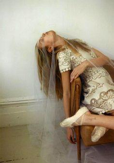 """Lula Magazine S/S 2012 #14 """"That Was My Veil"""" Josephine Skriver by Yelena Yemchuk"""