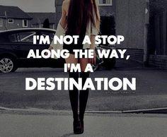 Choose me or walk on by.....