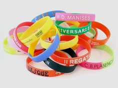 Silicone Bracelets Make Your Own It Yourself Custom Made Emboss Do Painting