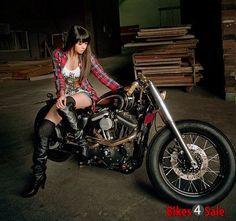 Spoke Wheel Motorcycle