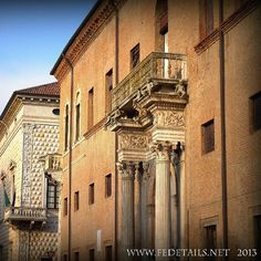 Palazzo Prosperi Sacrati @Wendy Werley-Williams Emilia Romagna Italy