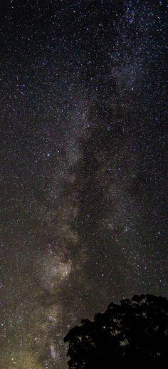 Milky Way over Michigan js