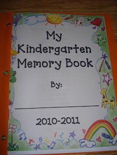 Mrs. Kimbrell's Kindergarten: ABC Days (M-P) and our Kindergarten Memory Book...