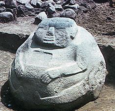 Structure 3 pot-belly figure, Monte Alto, Guatemala I really love the pot-belly sculptural tradition.
