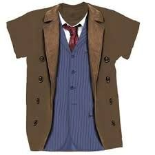 10th doctor costume t shirt